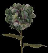 Hydrangea Branch 85cm Blue