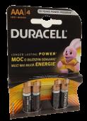 AAA Duracell Batteries x 4