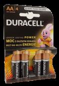 AA Duracell Batteries x 4