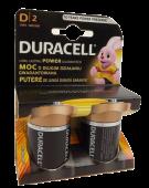 D Cell Duracell Batteries x 2
