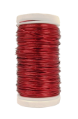 Metallic Wire Red (0.5mm x 100g)
