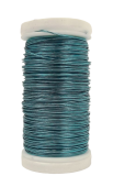 Metallic Wire Turquoise (0.5mm x 100g)