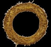 Straw Wreath 50cm