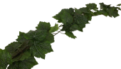 180cm Outdoor Grape Leaf Garland WR Green