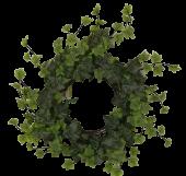 38cm Outdoor Ivy Wreath WR Green