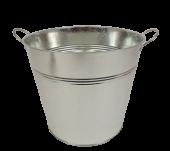 Galvanised Bucket H - 22cm D - 25cm