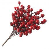20cm Berry Bundle Red Weather Resistant