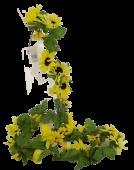 Sunflower Garland 180cm Yellow