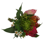 Exotic Bouquet 27cm Multi-Coloured