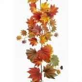 Maple Leaf Garland 182cm Fall