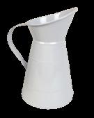 Zinc 23cm Jug White 23 x 15cm