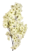 73cm White Cherry Blossom Branch