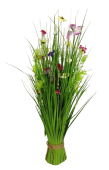 Meadow Flowers 70cm - Hot Pink, Purple, Yellow & White
