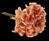 28cm Hydrangea Posy Bisque