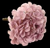 28cm Hydrangea Posy Grey