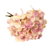28cm Hydrangea Posy Lilac