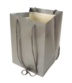 Olympic Bag Silver 25cm x 10pcs
