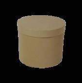 Grey Hatbox D - 21cm