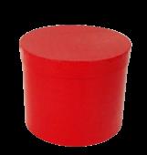 Red Hatbox D - 21cm