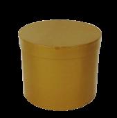 Gold Hatbox D - 21cm