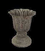 Sandringham Antique Scallop Pot 12 x 12 x 14.5cm
