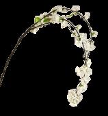 Large Cherry Blossom Spray White 95cm