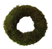 Wreath Flat Moss 20cm Natural