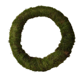 Wreath Flat Moss 50cm Natural
