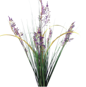 70cm Limonium Grass Bush Purple