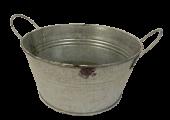 Chartwell 18cm Zinc Bowl