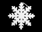 Pb. 1 Icicle/Hanging White 50 cm