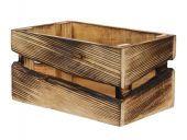 Pc. 1 Wooden Box Natural 25x15.5x13cm