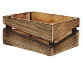 Pc. 1 Wooden Box Natural 31x23.5x14cm