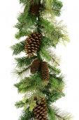 Mixed Pine/Cone Garland 180cm
