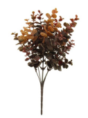 32cm Eucalyptus Bush Brown/Autumn