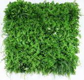 Exterior UV Resistant Tropical Green Wall 1 x 1mtr