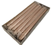 Tapered Candles 250/23 Copper x 12