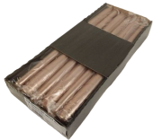 Tapered Candles 300/23 Copper x 12