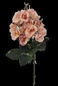 51cm Wild Rose Spray Pink