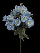51cm Wild Rose Spray Blue