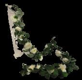 180cm Cream Camellia Garland
