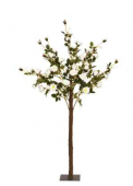 140cm Cream Rose Tree