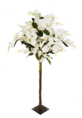 140cm Cream Orchid Tree