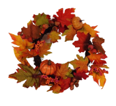 40cm Autumn Wreath