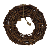 Wicker Wreath D- 40cm (Wire Frame)