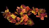 180cm Autumn Foliage Garland