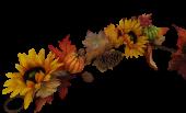 150cm Autumn Garland