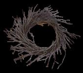 Whitewash Birch Twig Wreath 44cm