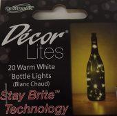Decor Lites 20 LED Bottle Lights Warm White