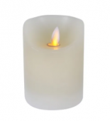10 x 7.5cm Flickering LED Candle
